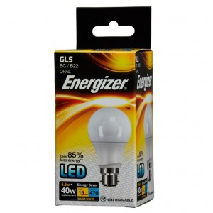 Energizer LED Energy Saving GLS Bulb Opal