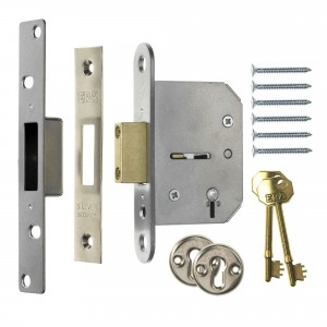 Era 5 Lever Viscount Mortice Deadlock PB