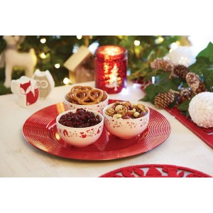 KitchenCraft Winter Woodland Tableware Collection