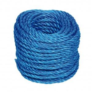 Polypropylene Stranded Rope Blue (Per Metre)