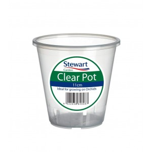 Stewart Clear Flower Pot