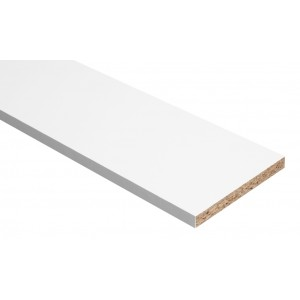 Hill Panel White Melamine Faced Chipboard