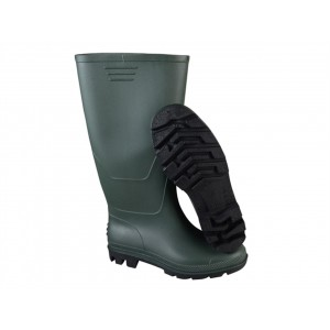 Town & Country Essentials Full Length Wellington Boots Green