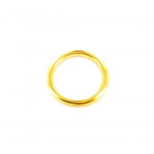 Securit Curtain Rings Brass