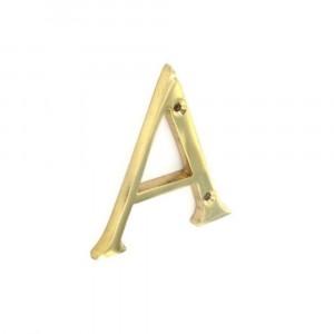 Securit Brass Letter 75mm