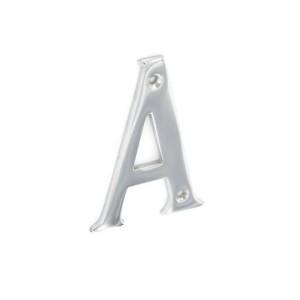 Securit Chrome Letters 75mm