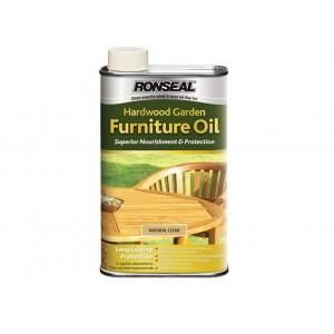 Ronseal Hardwood Garden Furniture Oil Natural Clear