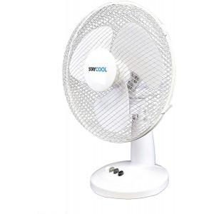 StayCool Desk Fan - White