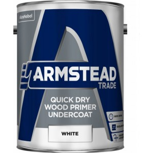 Armstead Quick Dry Wood Primer Undercoat - White