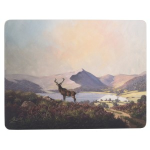 Creative Tops Placemats Highland Stag