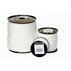James Lever Nylon Blind Cord White - Per Metre