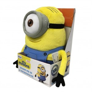 Intelex Microwavable Soft Toy - Minions