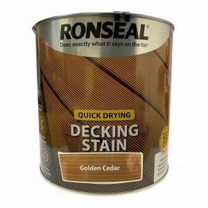 Ronseal Quick Drying Decking Stain 2.5 Litre